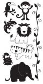 TPC Studio – Jungle - Clear Stamp - ST93445